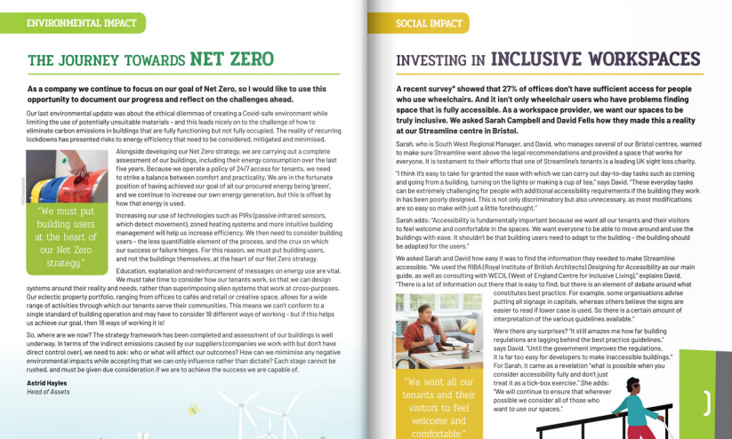 Quarterly Report 2021 Issue 01