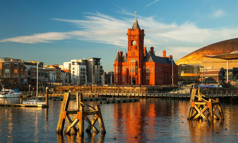 View of Cardiff Bay